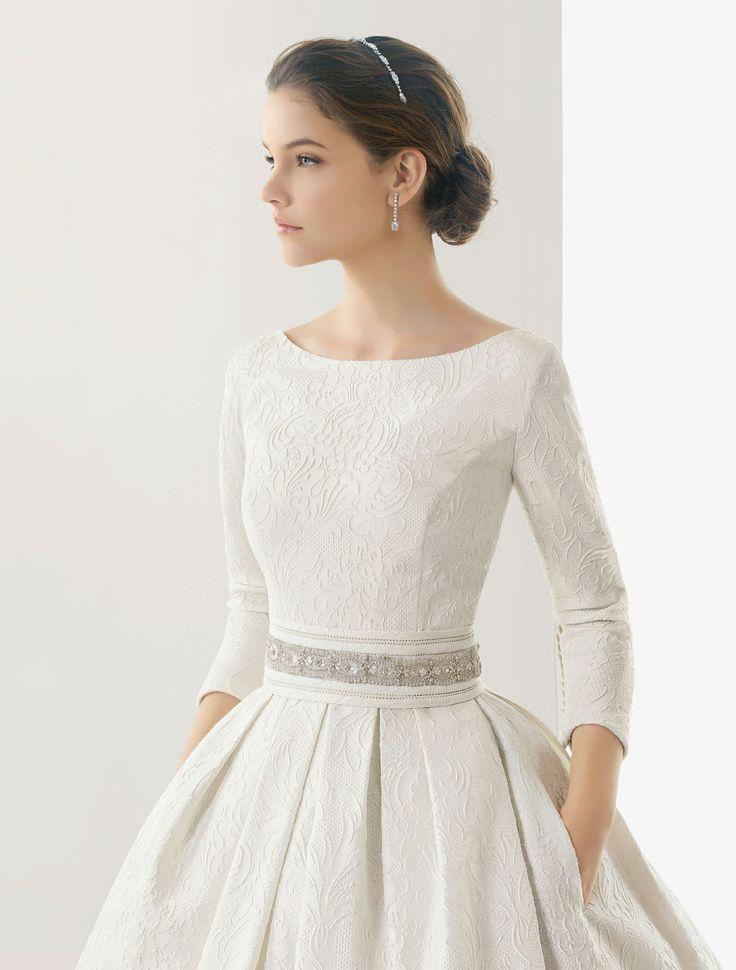 Rosa Clará Wedding Gown