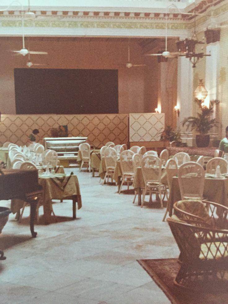 Tiffin Room, Raffles Hotel, Singapore 1980