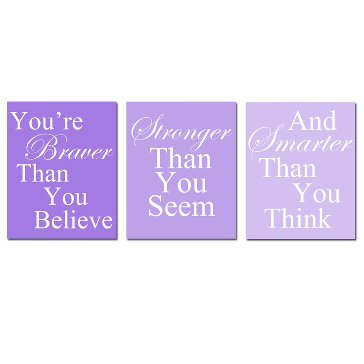 Coordinating Winnie The Pooh Quote Prints