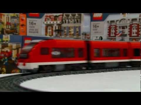 ▶ LEGO 7938 Passenger Train - YouTube