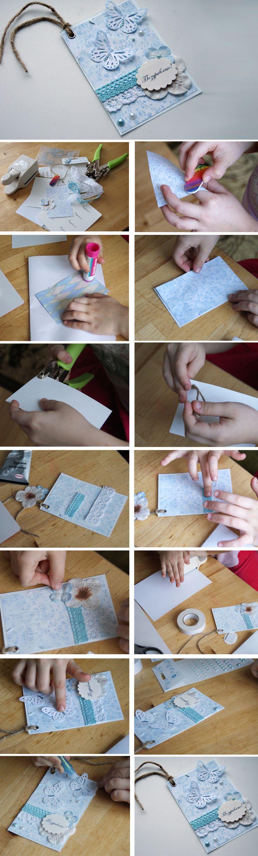 Открытки как сделать своими руками поэтапно для детей