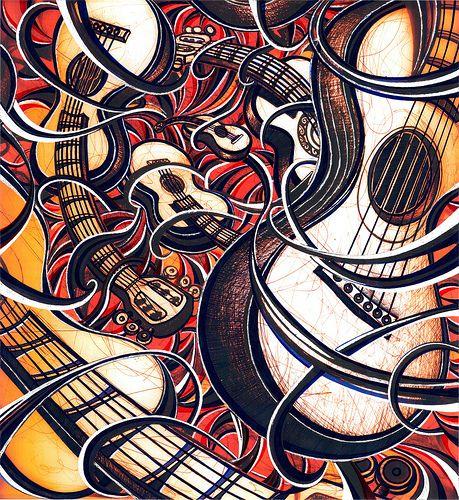 ramon-echavarria- Tornado de guitarras | by Ramon Echavarria