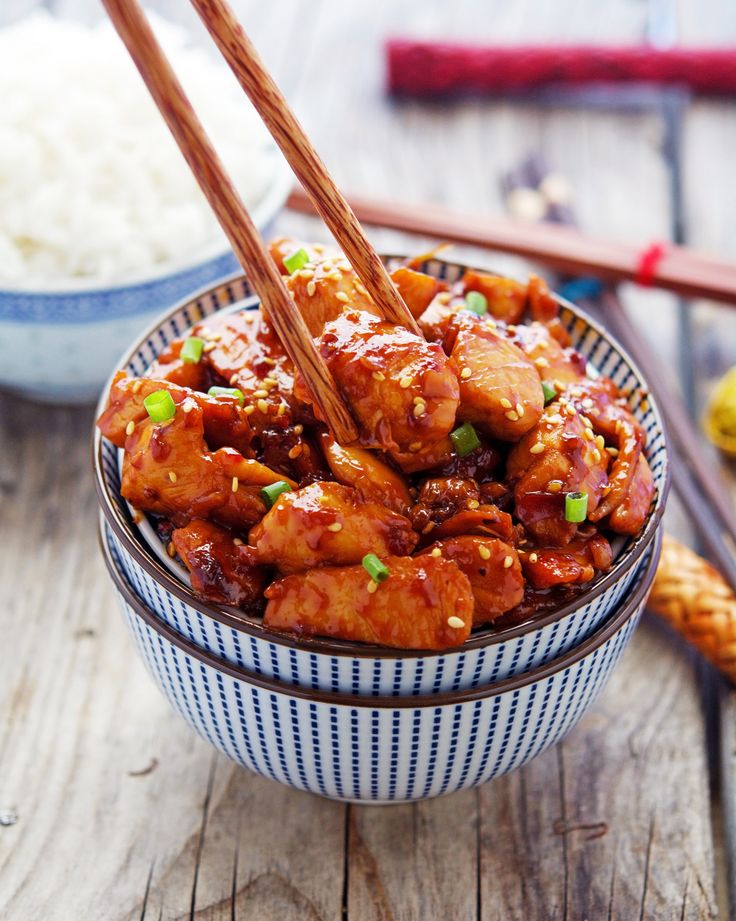 Easy Korean Sticky Chicken: