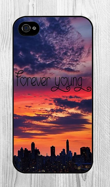 Forever Young phone case