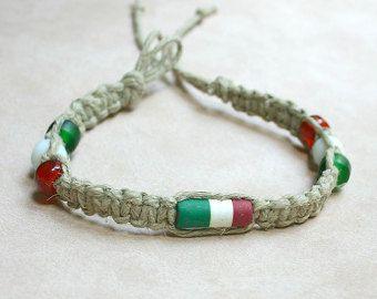 Image result for italian flag bracelet
