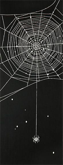 ヤギセイ Soi注染手ぬぐい「Miyakawa:蜘蛛」