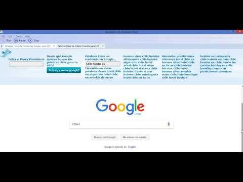 Herramienta para buscar palabras clave en Chile para Buscadores <!---->