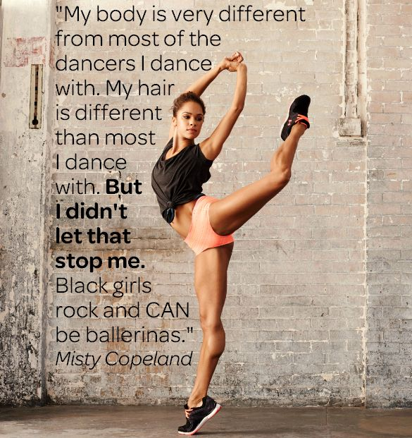 Misty Copeland was just named the first African-American principal dancer!