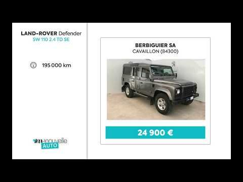 Annonce Voiture Occasion Land Rover Defender - YouTube