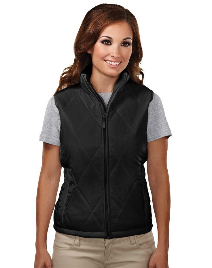 Women's Quilted Vest Nylon 8120 Breeze #Trimountain #Vest #Nylon