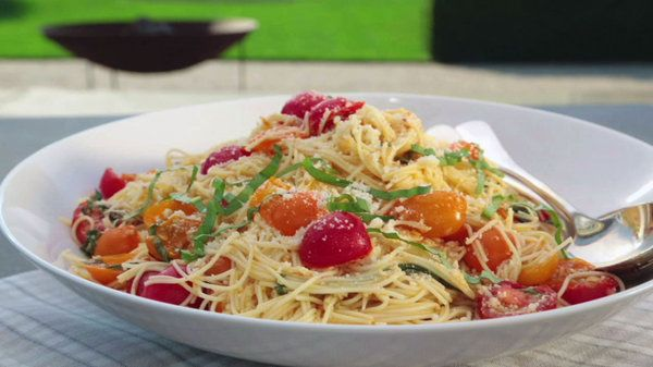 The Chew Recipe Ina Garten 39 S Summer Garden Pasta Use