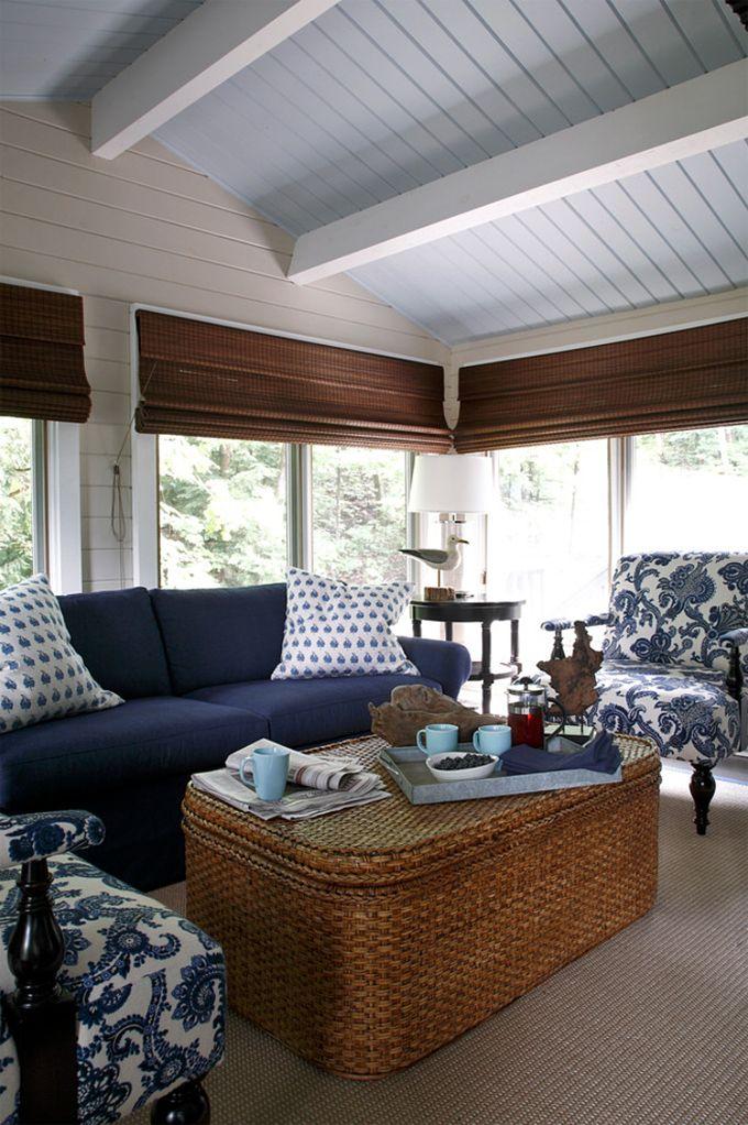 coastal family room | Lisa Stevens & Co.