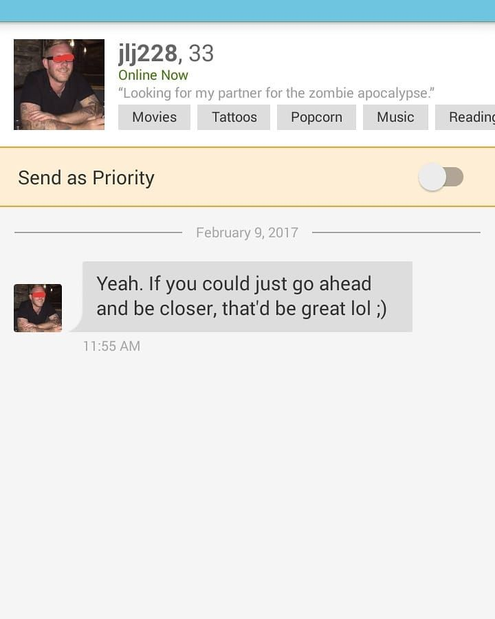 WTF online dating