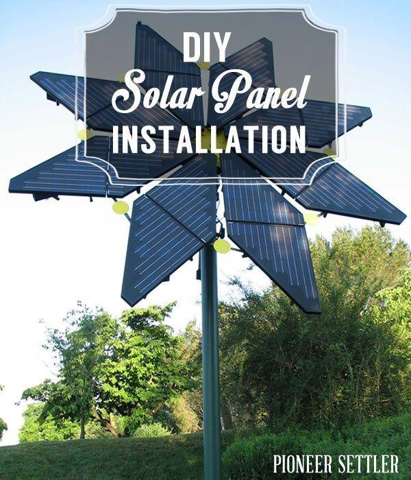 Diy Solar Panel Installation Solar Solar Panels And Diy