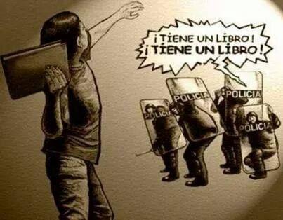 El peor enemigo de un gobierno corrupto, es un pueblo culto. Mexico, Ayotzinapa