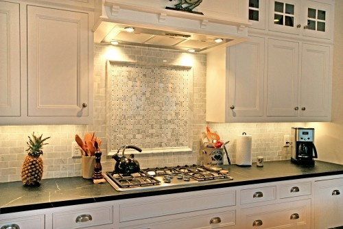 Love The Soapstone Countertops Maybe Use Honed Granite