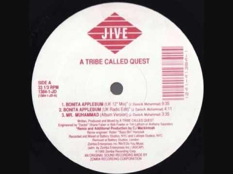 "A Tribe Called Quest - Bonita Applebum (UK 12"" Mix) [AUDIO - alternative hip-hop/remix/jazz rap/90s]"