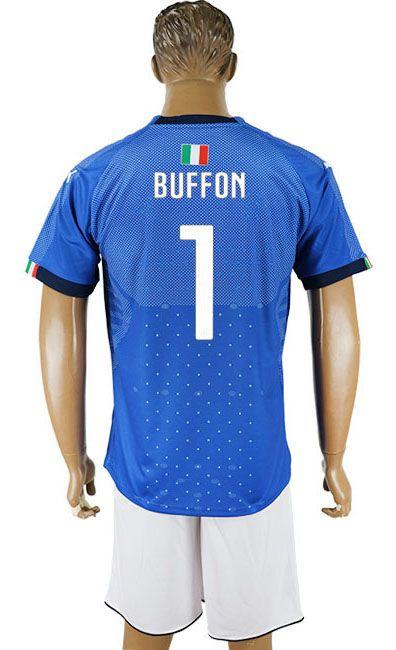 e38c1012f 2018 Italy Football Shirt  1 buffon
