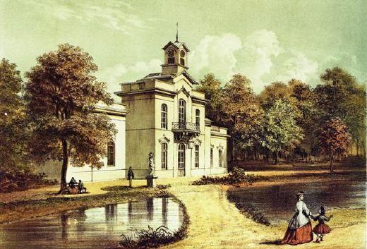 Musis Sacrum in 1847