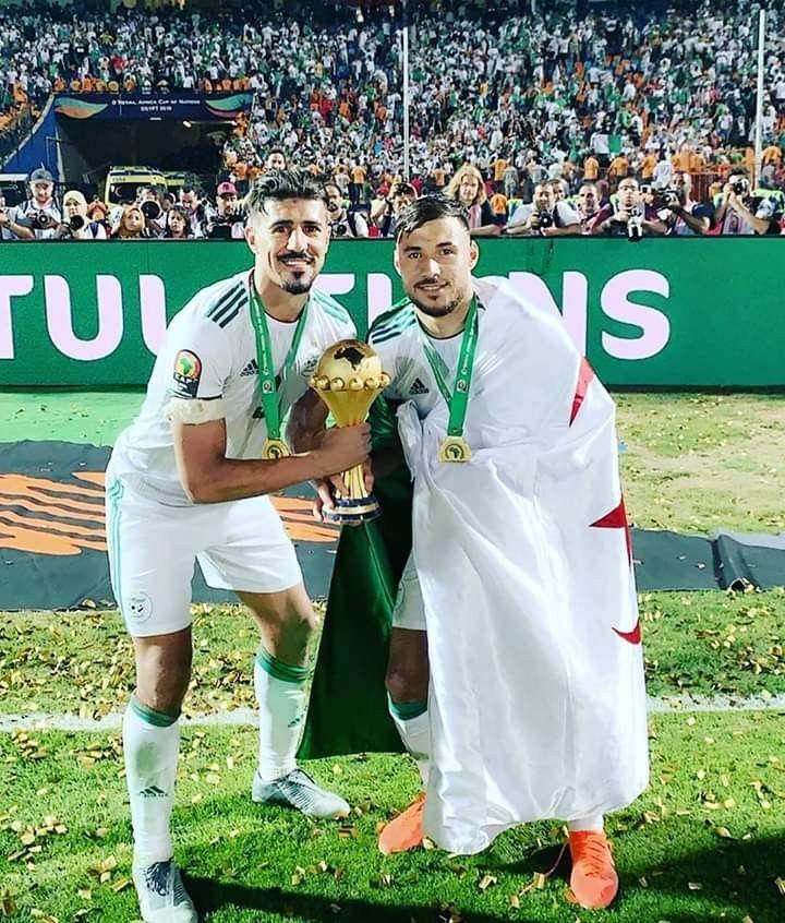 بغداد بونجاح يوسف بلايلي Fake Photo Baghdad National Football Teams
