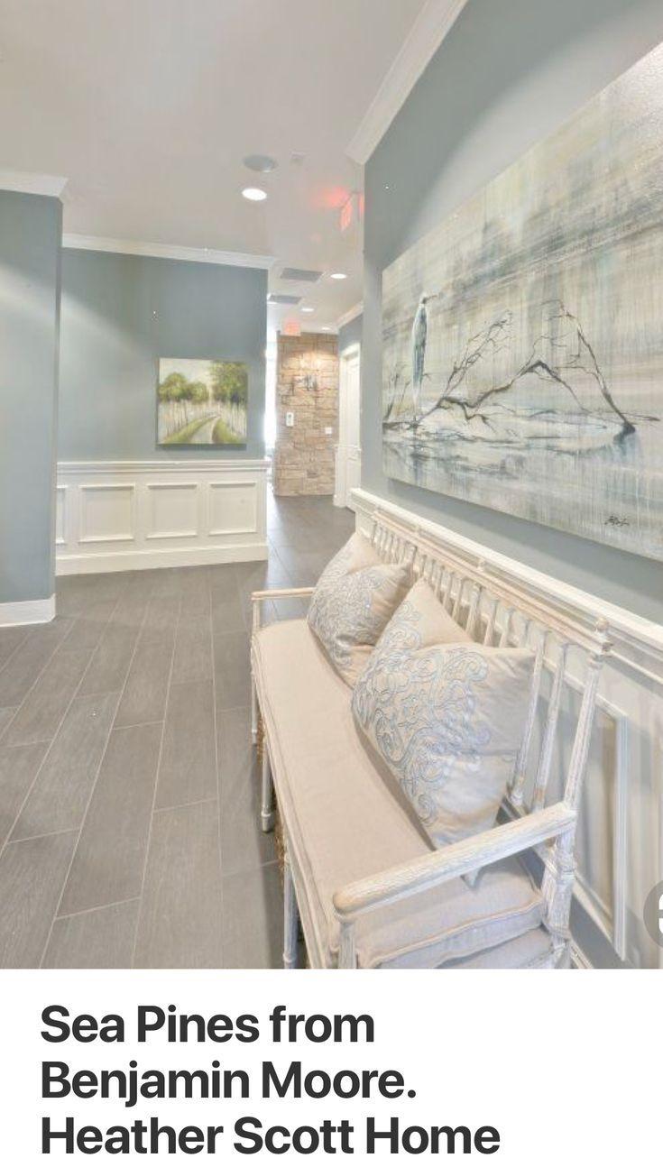 Btpaint Color Would Probably Look More Blue With Our Wood Trim Basement Paint Colors Grey Walls Wood Trim