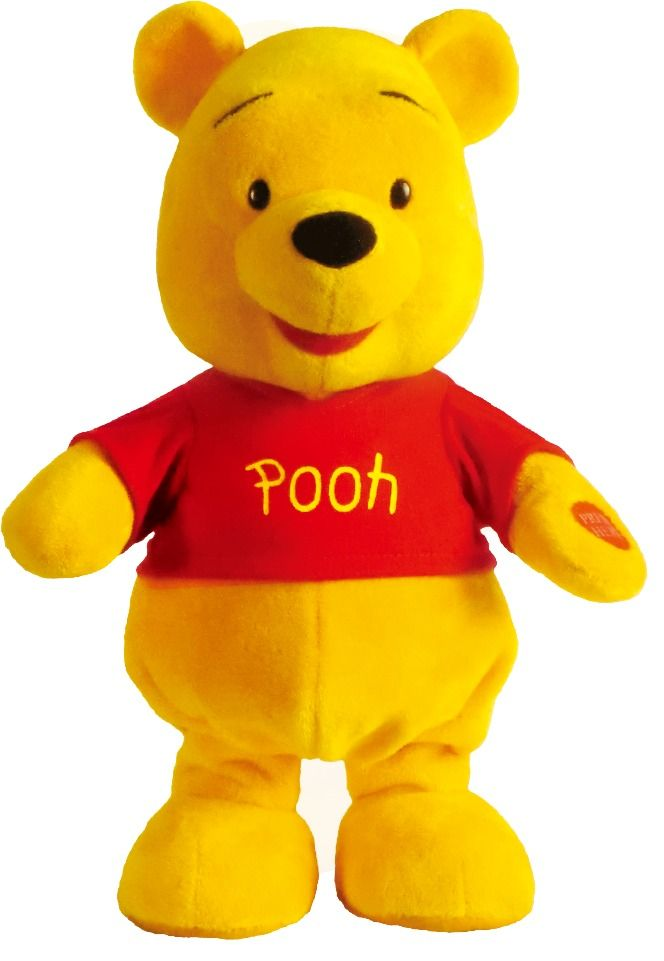 peluche winnie the pooh interactivo de disney intek tv 30cm