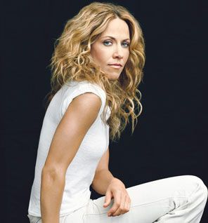 """Sheryl Crow's Fitness Secrets  Next  Self / JULY 28, 2010 8:00 AM / Read More: Fitness, Celebrity, Sheryl Crow, Community, Self, Story Swap    Tweet  3  3  Share  We are pumped to share our fave story from Self here on FitSugar!    With a new album on the way (100 Miles From Memphis hits shelves July 20), Crow is spending the summer on the road — and the all-American pop star is bringing her fitness routine with her.    """"I take workouts with me on tour: P90X, Tracy Anderson. I do them…"""