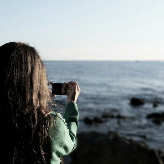 Friend, smile, sun and sea