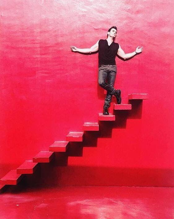 David Zepeda Red Wall.