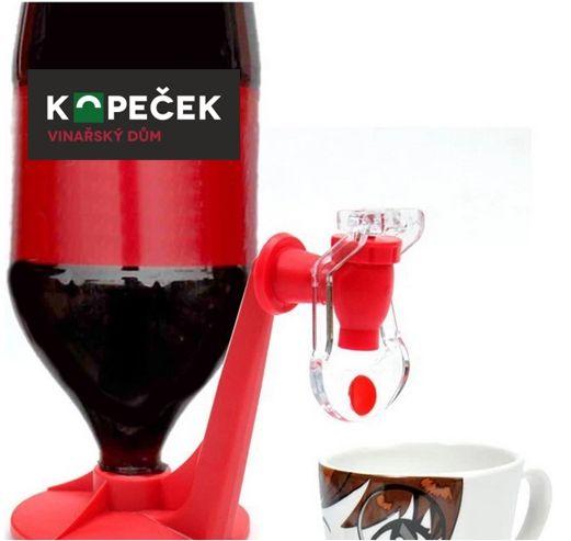 Velmi užitečný a zároveň jednoduchý dávkovač na jakýkoliv nápoj, který má klasický šroubovací plastový uzávěr.