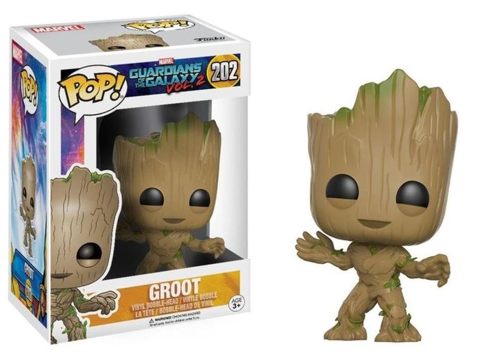 Funko POP Movies: Guardians of the Galaxy 2 Toddler Groot Toy Figure #Funko