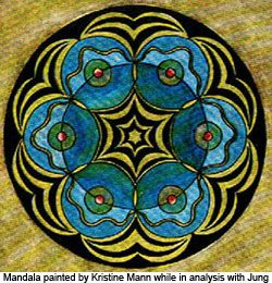 Jung noted that when a mandala image suddenly turned up in dreams or art, it was usually an indication of movement toward a new self-knowledge.