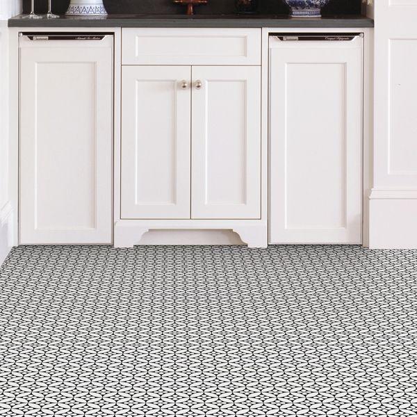 Fleur Peel And Stick Floor Tiles Tile Floor Peel And Stick Floor Vinyl Floor Cleaners