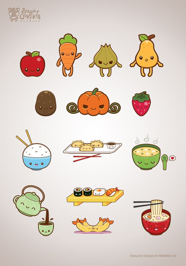 Food With Faces Drawings | www.imgkid.com - The Image Kid ...