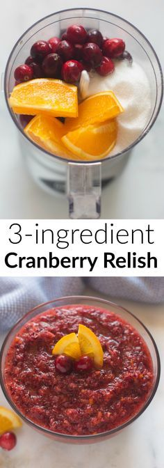 The BEST Cranberry Relish ever! So much better than regular cranberry sauce!   Tastes Better From Scratch
