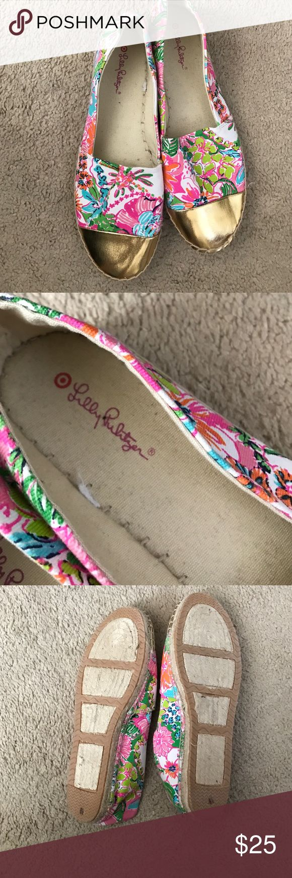 BRAND NEW RARE LILLY PULITZER FLORAL ESPADRILLES🌺 NEVER WORN Lilly Pulitzer FLORAL Espadrilles...sold out everywhere! From the Target Line...size 8.5 adorable and comfortable! Lilly Pulitzer Shoes Espadrilles