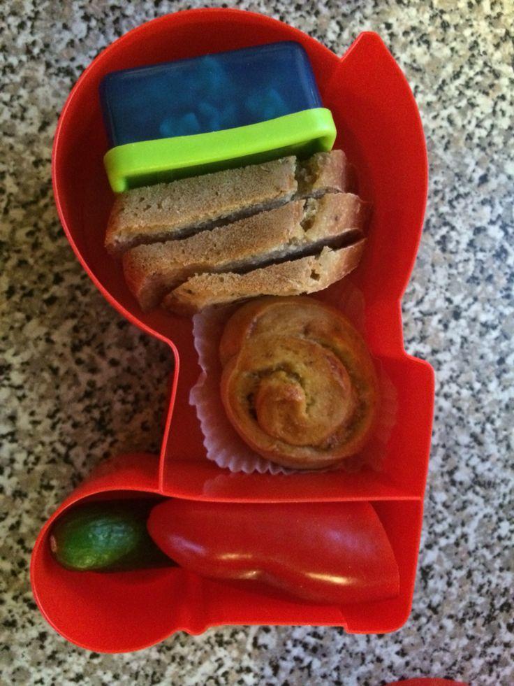 Blafre lunchbox, lunch