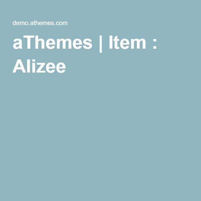 aThemes | Item : Alizee