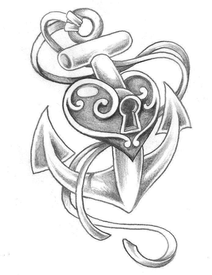 ber ideen zu anker tattoo auf pinterest tattoo motive herz anker tattoos und maria. Black Bedroom Furniture Sets. Home Design Ideas