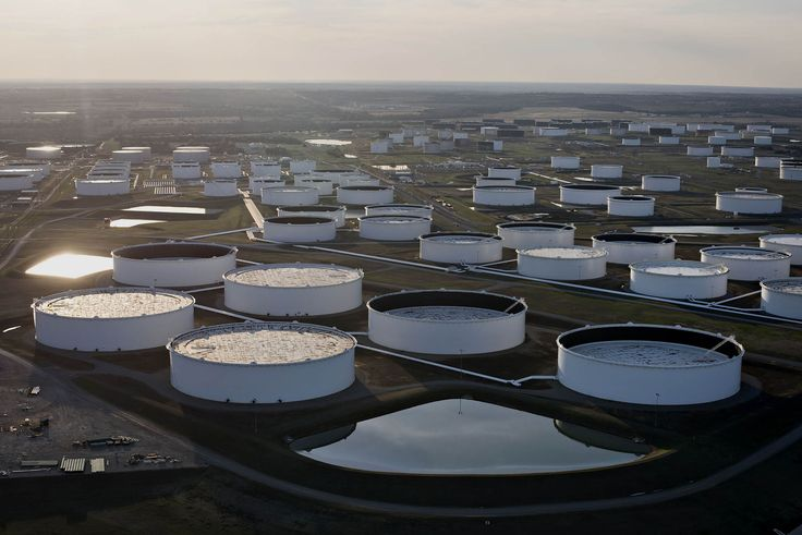 Why Oklahoma can't turn off its Earthquakes:  Oil storage tanks in Cushing, Okla.