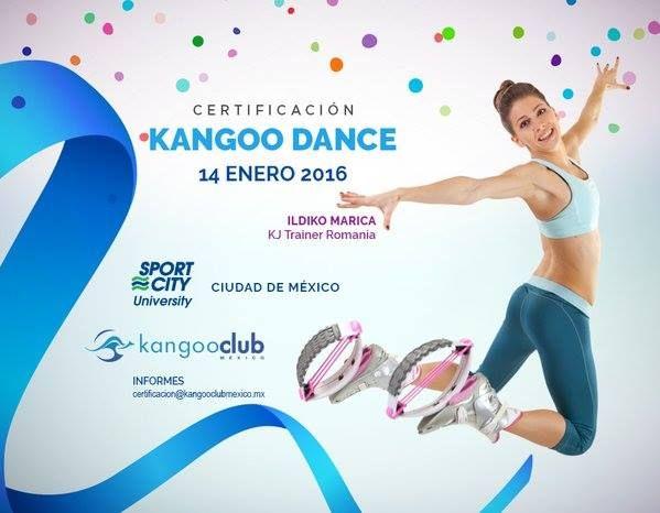 Certificación Enero 2016 en Kangoo Dance