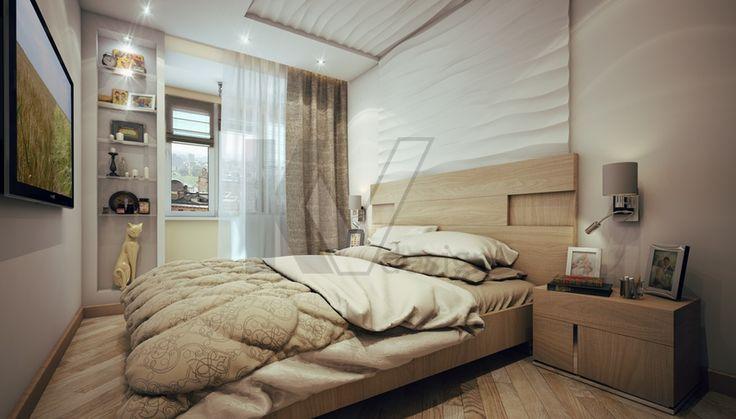 Интерьер спальни в светлых тонах (46 фото): светлые оттенки в дизайне