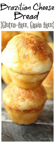 These chewy, cheesy Brazilian Cheese Puffs are grain free, gluten free and incredibly easy to make!