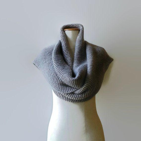 Extra Long Scarf Gray Wool Shawl Scarf Cute Scarf Long by branda