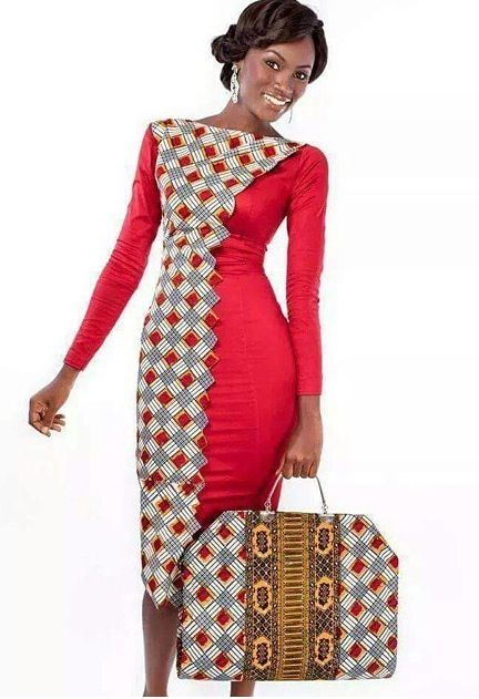 Ankara Gown Style for Ladies - DeZango Fashion Zone ~African fashion, Ankara, kitenge, Kente, African prints, Senegal fashion, Kenya fashion, Nigerian fashion, Ghanaian fashion ~DKK