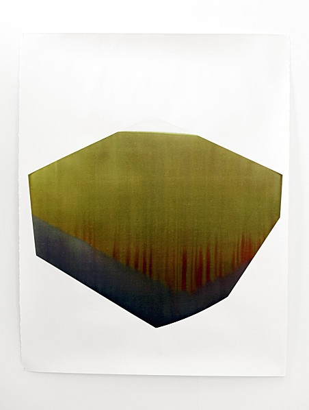 'CLXIII' (2012) by French artist Claire Chesnier (b.1986). Ink on paper, 150 x 114 cm. via the artist's site
