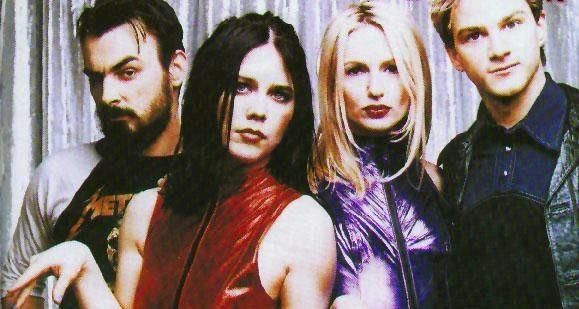 Veruca Salt. oh how i wish they would get back together. these four. i would even take Shapiro on drums.