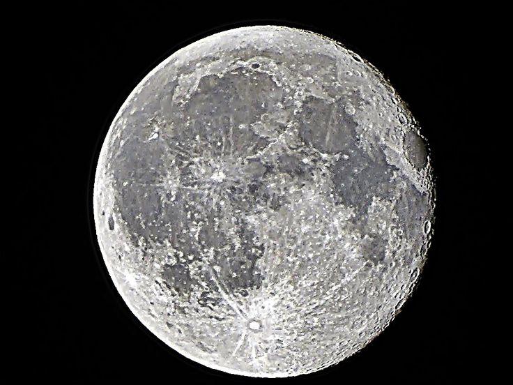 Full moon over Budapest