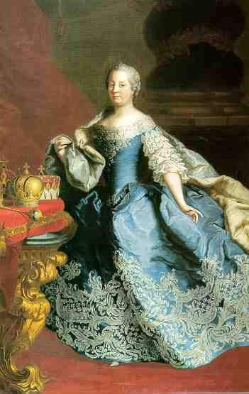 1747-1749 Maria Theresia by Martin van Meytens