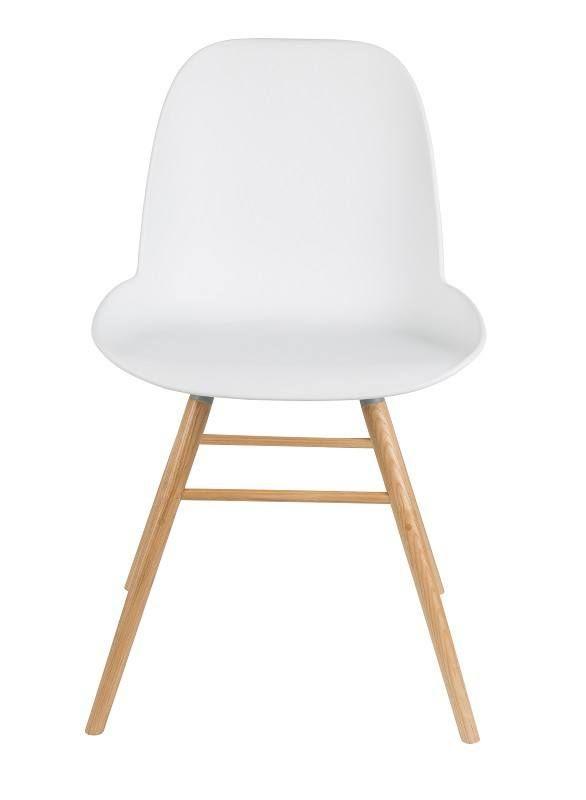 Zuiver+-+Albert+Kuip+Spisestuestol+-+Hvitt+-+Hollandske+Zuiver+har+laget+denne+stilrene+og+meget+moderne+spisebordsstol+i+hvit.+Albert+Kuip+stolen+er+designet+av+APE+og+fremstillet+av+høy+kvalitet.+Benene+er+laget+av+massiv+asketre,+som+har+en+fin,+lys+farge.+Treet+passer+godt+til+setet+som+er+laget+av+hvit+plastik+med+aluramme.+Tilsammen+gir+det+et+nordisk+design,+som+passer+til+de+fleste+spisestuer+i+de+danske+hjem.+